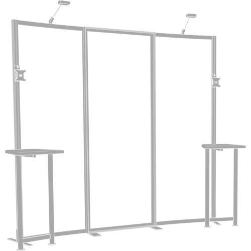 Hybrid Pro 10ft Modular Backwall Kit 01
