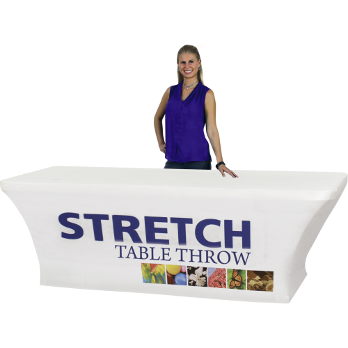 Stretch Dye Sub Table Throw