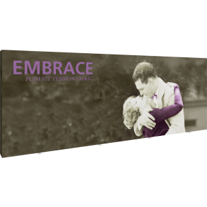 Embrace 20ft Full Height Push-fit Tension Fabric Display