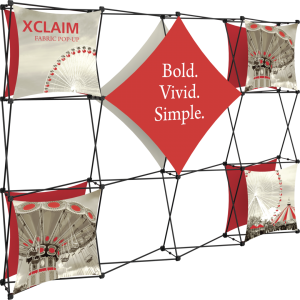 Xclaim 10ft Fabric Popup Display Kit 02