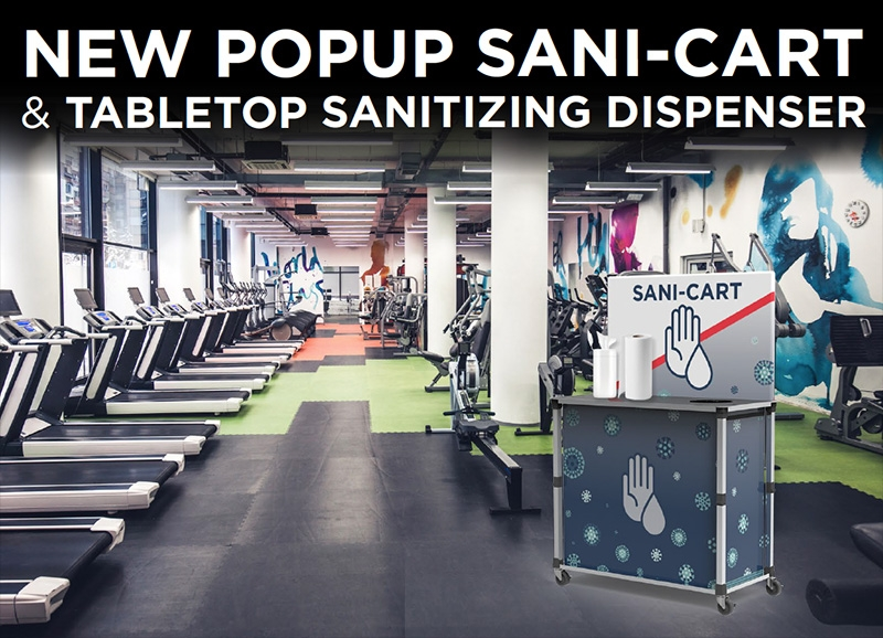 New Sani-cart